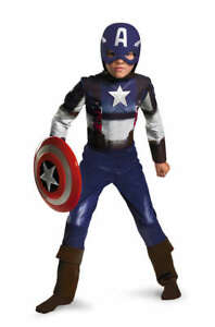 Enfant Garçon Marvel Captain America Premier Avenger Déguisement