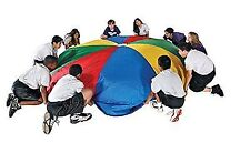 School Smart 24 FT Parachute With Drawstring Carrying Bag