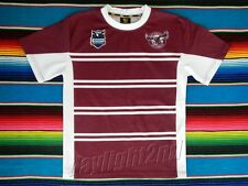 ✺Good Condition✺ MANLY SEA EAGLES Kids NRL Jersey SIZE 14 Not Signed 2017
