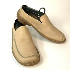 Born Slip On Loafers Mules Comfort Shoes Leather B2042 Tan Womens 8M