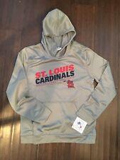 St. Louis Cardinals NEW Youth Large Performance Hooded Sweatshirt . MLB Baseball