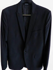 $2375 DOLCE & GABBANA Black Martini Blazer Formal Tuxedo Jacket 48 Euro 38 US