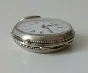 Montre gousset ancienne  argent  vintage pocket watch Solid silver
