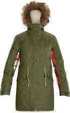 Dakine SLOANE 10K Womens Snowboard Ski Jacket Cypress Green Medium NEW