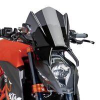 KTM 1290 SUPERDUKE R 2014 > PUIG SCREEN DARK SMOKE NAKED SPORT WINDSCREEN