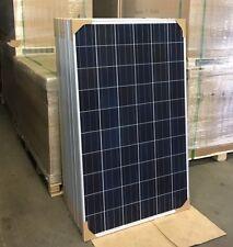 250 Watt Poly Solarmodul Neuware Solaranlage Camping Panel Photovoltaik