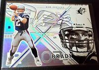 Tom Brady 2002 Upper Deck SPX, Sharp (Gradeable), Tampa Bay Buccaneers, Patriots