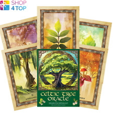 CELTIC TREE ORACLE TAROT DECK CARDS ESOTERIC FORTUNE TELLING BLUE ANGEL NEW