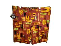 """Loudmouth Golf Shorts Bohemian Mens Size 42 Inseam 11"""" Multicolored NWT"""