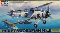 Tamiya 1:48 Fairey Swordfish Mk.II Biplane Plastic Aircraft Model Kit #61099