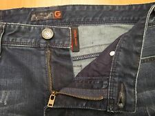 AUTHENTIC GUESS DREXEL SKINNY FIT MEN JEANS SZ 33 X 34 DISTRESSED VIC-THOR1
