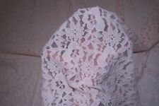 Pastel Pink Floral Stretch Lace #72 Nylon Lycra Spandex Apparel Fabric BTY