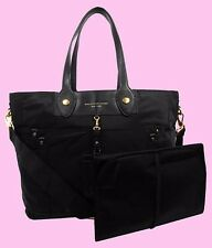 MARC JACOBS ELIZ-A-BABY PRETTY Nylon & Leather Tote Shoulder Bag Msrp $348.00