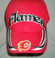 Rare CALGARY FLAMES - NHL Hockey CAP - Embroidered Logo Hat - High Quality