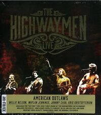 THE HIGHWAYMEN LIVE AMERICAN OUTLAWS 3CD+BLU-RAY NUOVO SIGILLATO !!