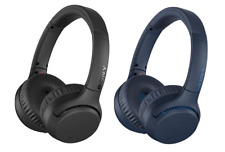 Sony WH-XB700 Wireless On-Ear Headphones | Black or Blue | Brand New