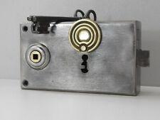 Ancienne Serrure de Porte Révisée,2 Clés,Marquée G.R,Vintage 1930-40 ,Lock Door