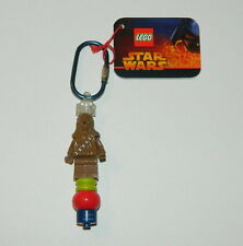 Star Wars LEGO Connect and Build Chewbacca Figure Keychain 2005, NEW UNUSED