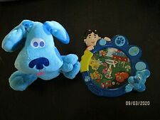 2002 Blue's Clues,TALKING JOE & YARD TOY,QUESTIONS,THINKING & PLUSH HAND PUPPET