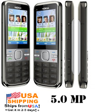 Nokia C5-00 Mobile Phone 5.0MP T-Mobile Symbian OS Grey