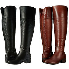 7bcfeb295d1 Vince Camuto Womens Bendra Side Zip Pull On Casual Knee High Tall Riding  Boots