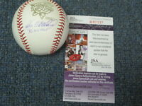 John Wetteland Autographed Baseball JSA Certified