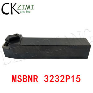MSBNR 3232P15 32×170mm Right Cylindrical turning tool holder For SNMG1506 Insert