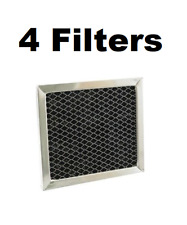 """Fiters for Broan BPSF30 99010308 QS WS Carbon Filter Hood Range 30"""" - 4 Pack"""