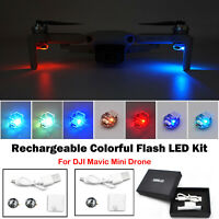 For DJI Mavic Mini Drone Rechargeable Light Colorful Flash LED Kit Accessories