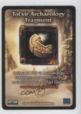 2007 World of Warcraft TCG: #NoN Tol'Vir Archaeology Fragment Gaming Card 1s6