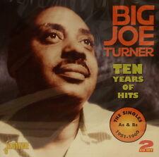 BIG JOE TURNER 'Ten Years of Hits' - 2CD Set on Jasmine