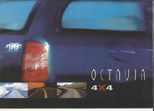 SKODA OCTAVIA COMBI 4 X 4 SALES BROCHURE MAY 1999 CZECH LANGUAGE