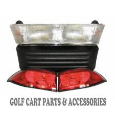 Club Car Precedent Golf Cart Headlight & Tail Light Kit (GAS 2004-UP)