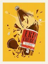 Eric Church Oshawa Canada 2013 Poster Signed & Numbered #/310