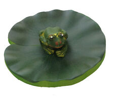 Frog Pond Decoration Schwimmform Teichfrosch Pond Decoration Garden Decoration