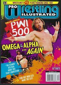 PRO Wrestling Illustrated     December 2021  Omega is the Alpha  PWI 500