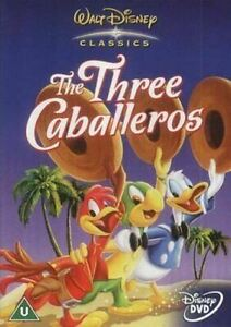THE THREE CABALLEROS (1944) Region 4 [DVD] Walt Disney