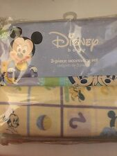 New DISNEY Baby 3 Piece Mickey Mouse Accessory Set