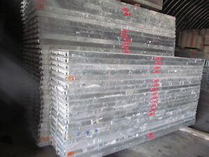 Gebrauchtes Layher / Assco Gerüst sinnvolle 103m² Baugerüst Layhergerüst