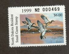 ND18 - North Dakota State Duck Stamp. Single. MNH. OG   #02 ND18