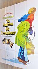 LA FEMME DE L' AVIATEUR ! eric rohmer affiche cinema 1980