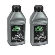 Rock Oil RBF 100 RACING FRENO Fluido DOT 4 LIQUIDO FRENI RACING Liquido Freni