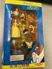 Rare! Nip Disney's Beauty The Beast Figurine Box Set Toy Exclusive Japanese 1991