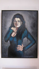 Morganna; Katie McGrath Gothic Portrait, Original Framed Painting