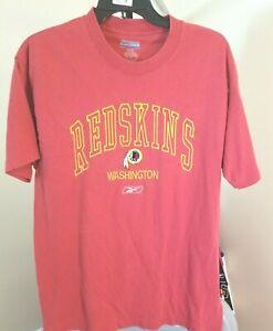 Washington Redskins NFL Reebok Vintage Burgundy Team Logo Medium T-Shirt