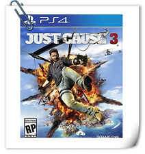 PS4 Just Cause 3 JC SONY PLAYSTATION Square Enix Action Games