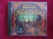 Ripley's Believe it or Not The Riddle of Master Lu (PC, 1995) - *Free Shipping*