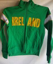 Ireland Green Long Sleeve Shirt Top Adult Small Used Nice
