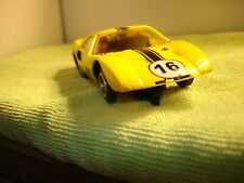 VINTAGE STROMBECKER FORD GT 40 RARE YELLOW  1/32 SLOT CAR offered by MTH