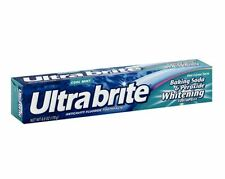 Ultra brite Baking Soda - Peroxide Whitening Toothpaste, Cool Mint 6 oz (9 pack)